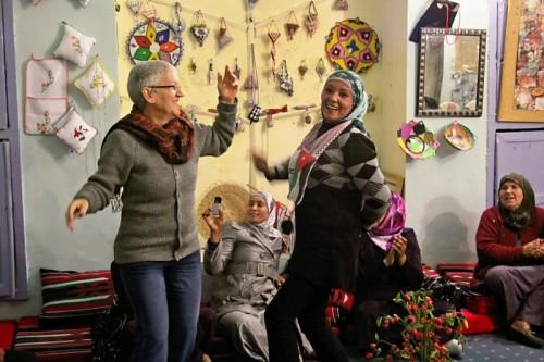 israeli-jordanian-women-foeme-good water   neighbors-dancing-beineh-womens-center