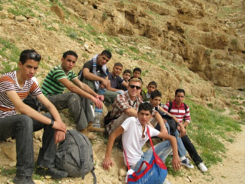julian baker - wadi fukin - students - wadi qelt