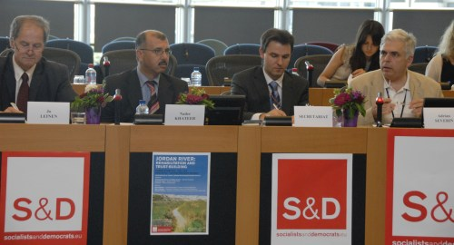 "FoEME-EU-parliament-""jordan river""-rehabilitation"