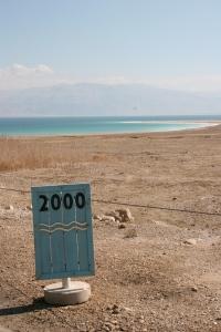 Decreasing Dead Sea level