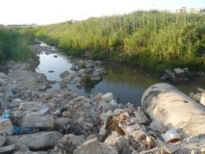 Polluted groundwater