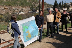 Discovering Battir and exploring the issue of the security barrier in the terraced landscape