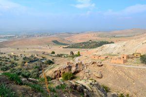 View of the Jordan Valley