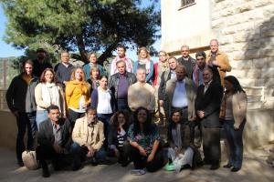 The Kosovar delegation with FoEME coordinators