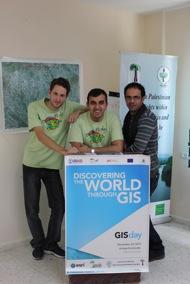 Orga team of GIS Day 2012, Auja Eco-Center