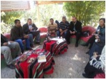 Visit from Jericho ministries at Auja Center