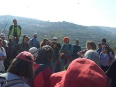 Participants hike 5km to help protect the landscape of Battir