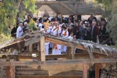 Jordan River Rehabilitation Project Team joins pilgrims for Epiphany Celebration