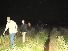 Students embark on a Full Moon Hike