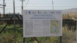 JR Peace Park sign