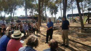 Diplomat Tour around Gaza